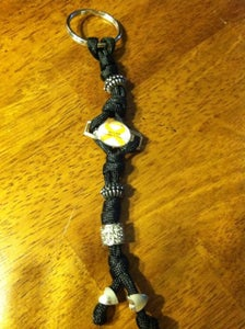 Image of RSD Awareness Prayer Bead Keychain