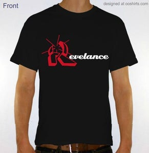 Image of Revelance Mens Black Tee