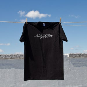 Image of New York is King Script Men's T