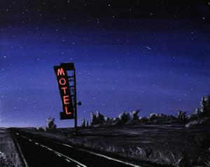 "Image of ""Desert Road""<br>Print"