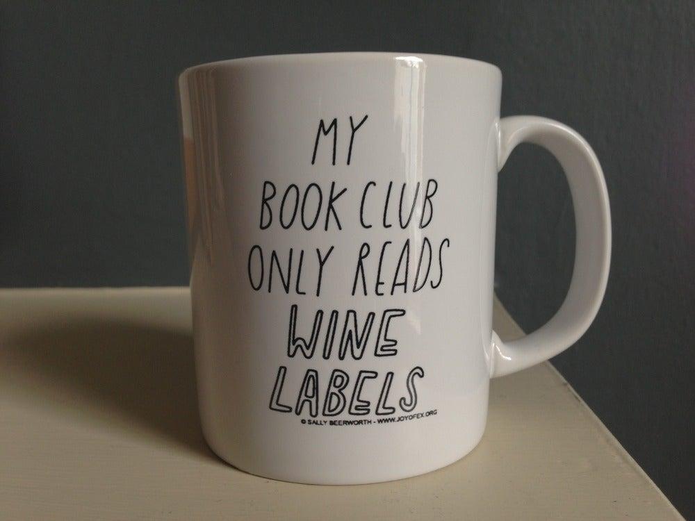 Image of Book (wine) club mug