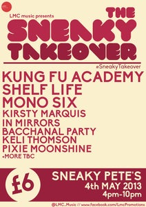 "Image of ""The Sneaky Takeover"" 4th May All Day Ticket"