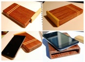 Image of Double Stripe Mahogany iPod Touch Case