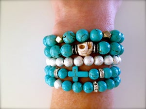 Image of Turquoise Dreams Bracelet Stack
