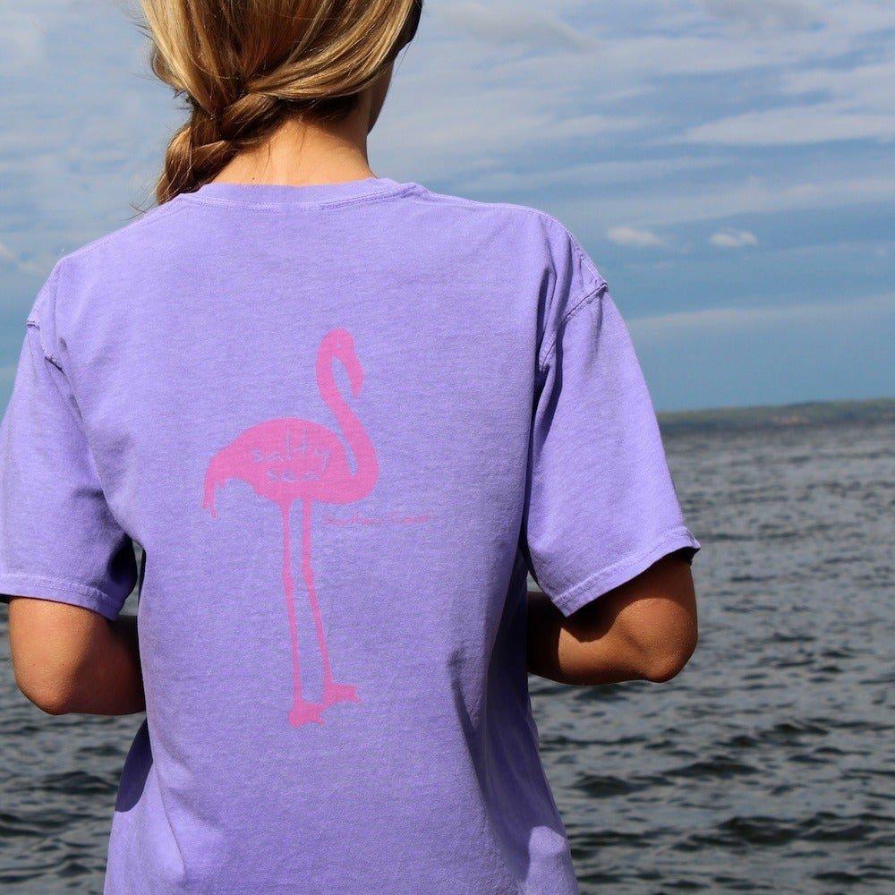 Image of Flamingo tee - Violet