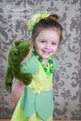 Image of Tiana Princess and the Frog Inspired Princess Dress
