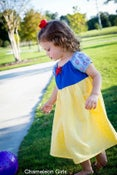 Image of Snow White Inspired Princess Dress