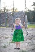 Image of Ariel Inspired Princess Dress
