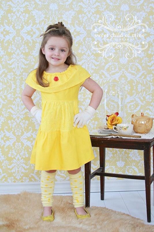 Image of Belle Inspired Princess Dress