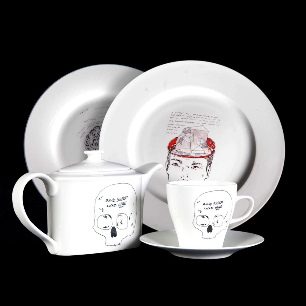 Image of David Sherry Tea Set