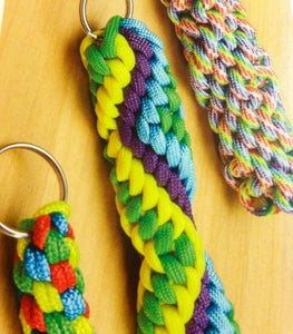 Image of Paracord Key Fobs