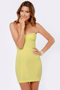 Image of Neon Bodycon Dress