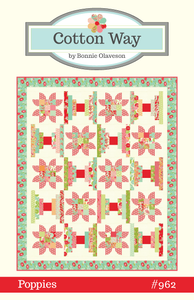 Image of Poppies Paper Pattern #962