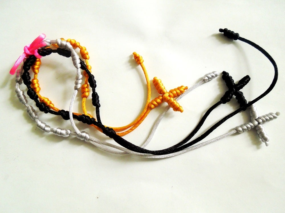 Image of Knotted Rosary Bracelets