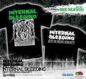 Image of INTERNAL BLEEDING - Bent On Ending Humanity - TS