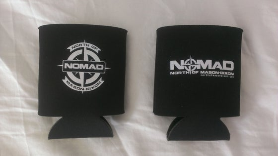 Image of NOMaD Beer Can Koozie