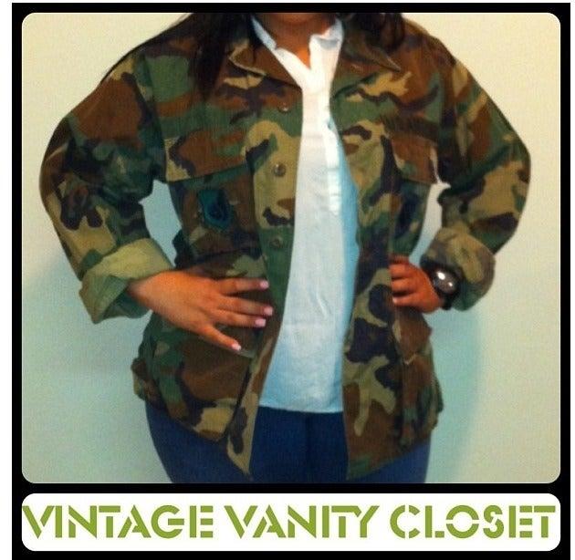 Image of Camouflage Jacket