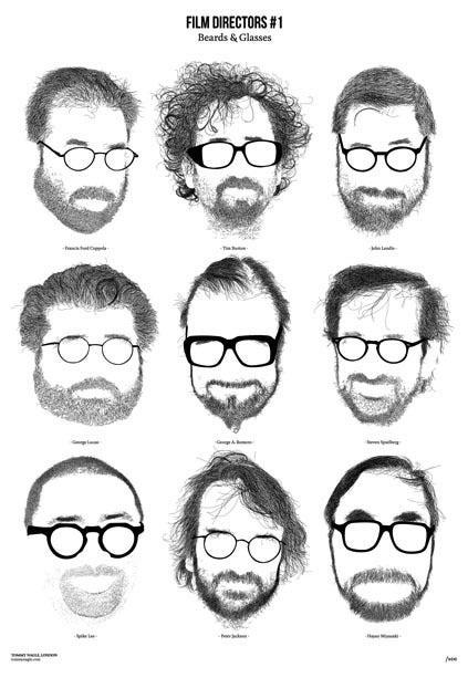 Image of Film Directors #1 - Beards & Glasses
