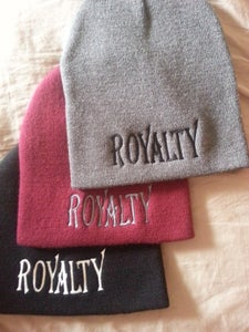 "Image of ""ROYALTY"" 8INCH BEANIE"