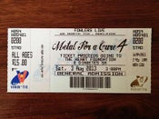 Image of Metal for a Cure IV Ticket