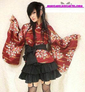 Image of RED YUKATA SET !