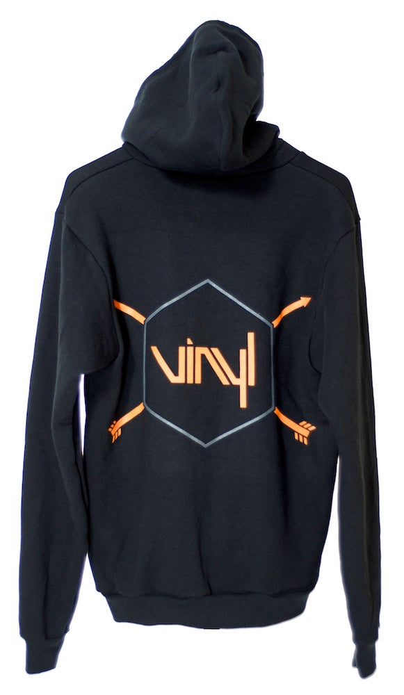 Image of Vinyl Hex & Arrows Hoodie