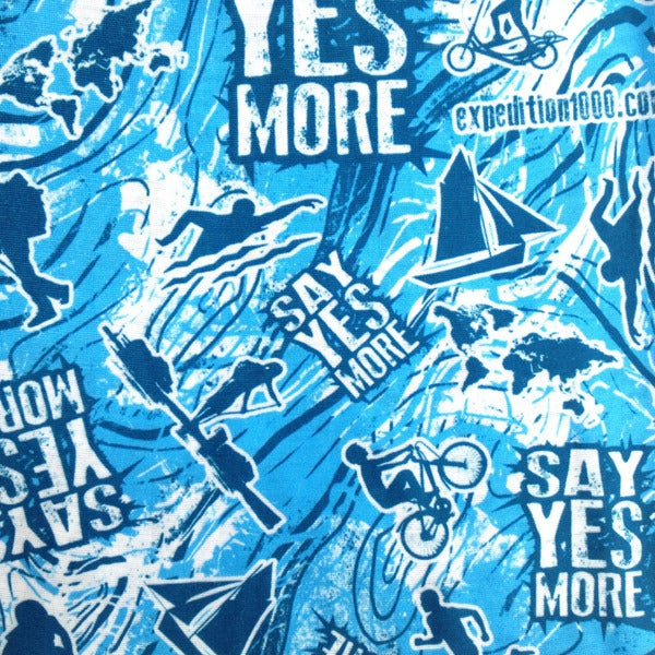 Image of Say Yes More Adventure Buff / Sky