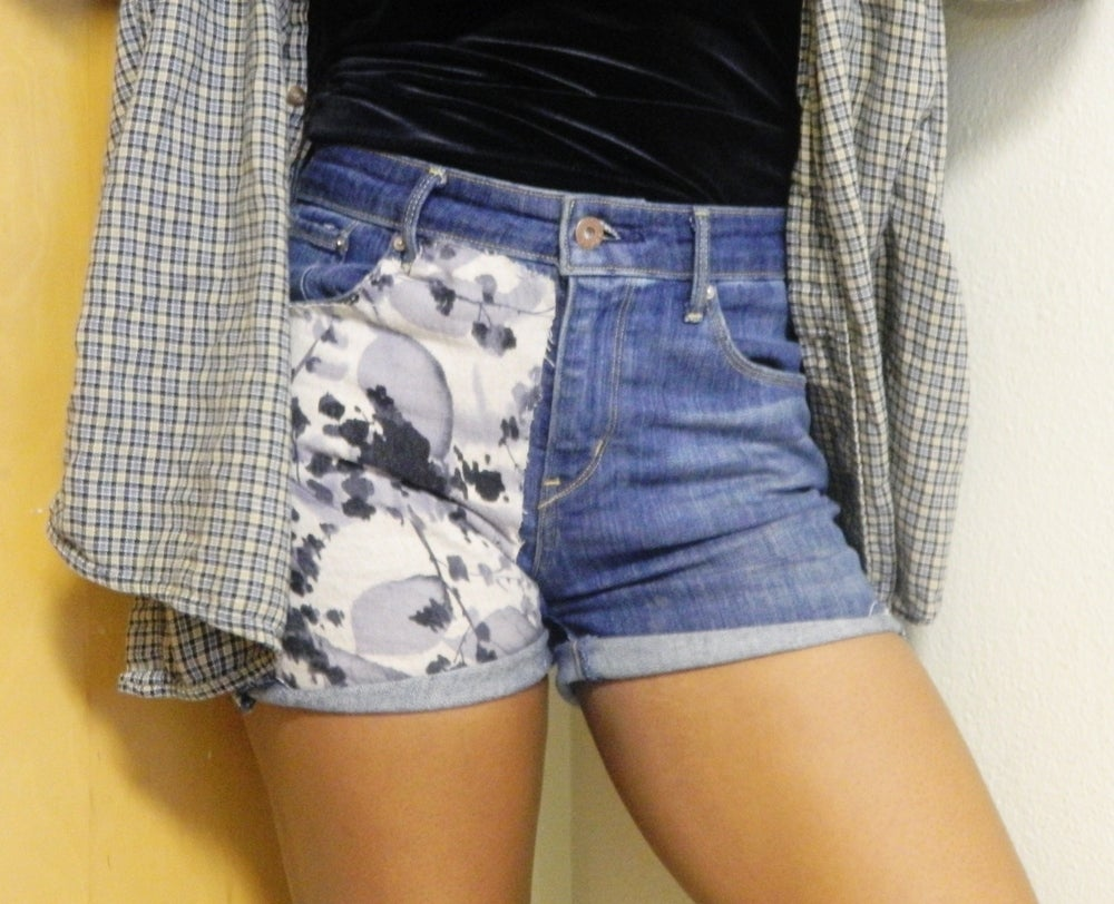 Image of Floral Patch Shorts