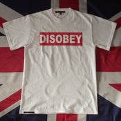 Image of Disobey t-shirt- White