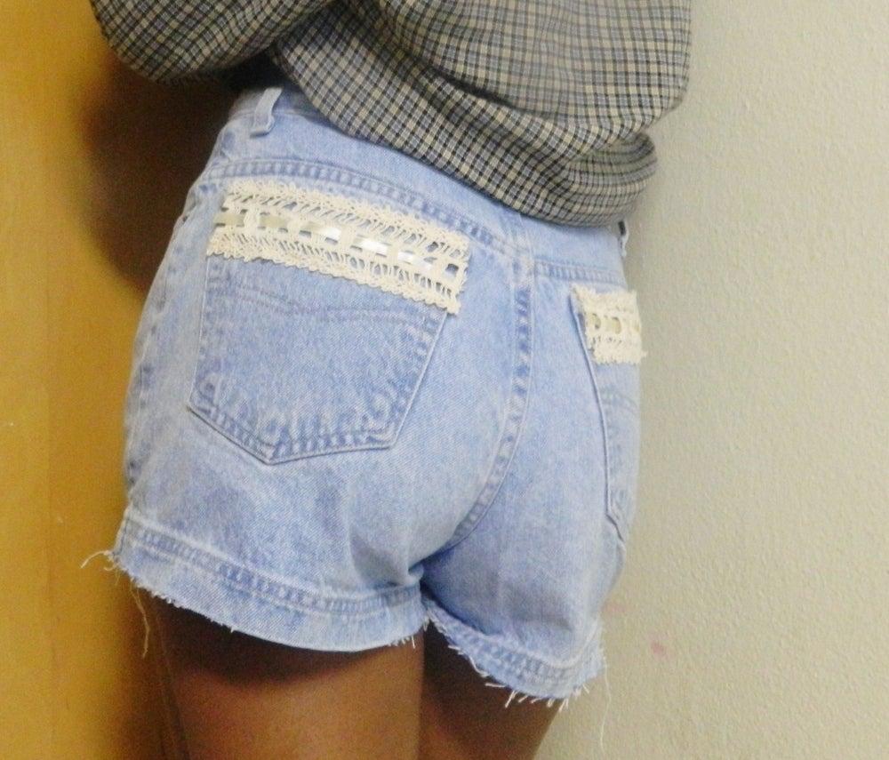 Image of Vintage Lightwash Shorts