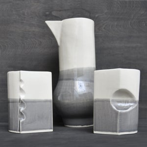 Image of beak carafe & tumblers