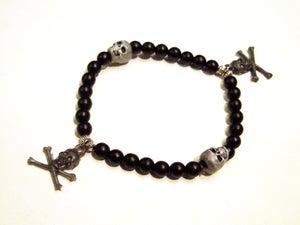 Image of Silver Skulls Bracelet