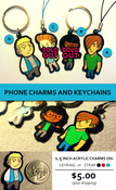 Image of KEYCHAINS & CHARMS