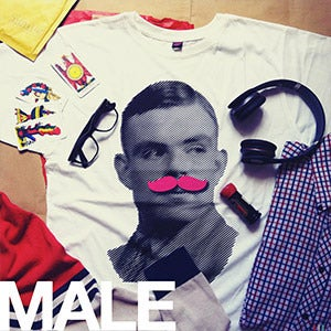 Image of [MALE] Turing Mustache