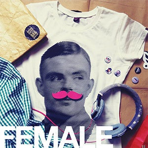 Image of [FEMALE] Turing Mustache