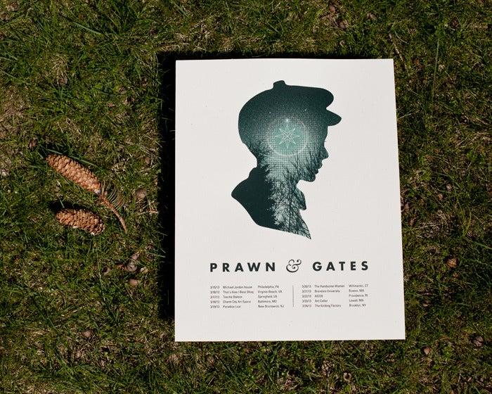 """Image of Prawn Tour Poster - 11x14"""""""