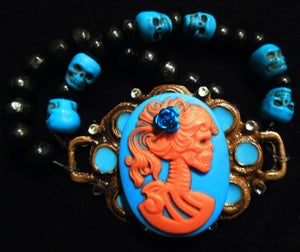 Image of Turquoise Lady of Death Bracelet