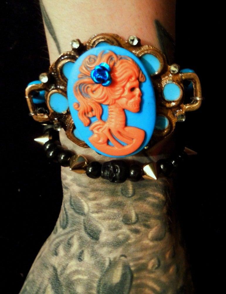 Image of Turquoise Lady of Death Bracelet