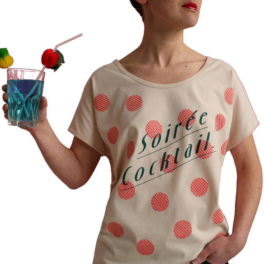 Image of T-shirt Soirée Cocktail