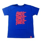 Image of 3XBOOST T-SHIRT. BLUE - RED