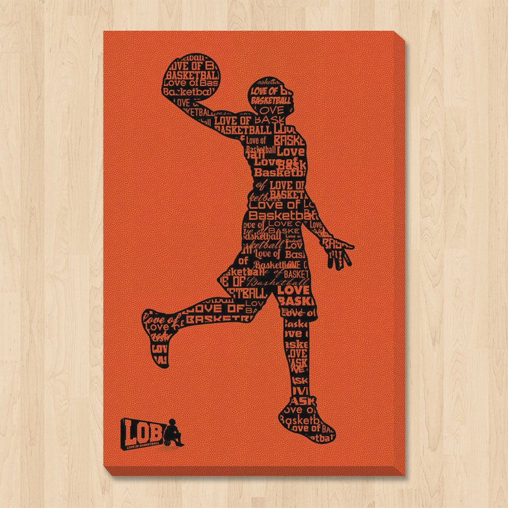 "Image of ""Dunkman"" Stretched Canvas Wall Art"