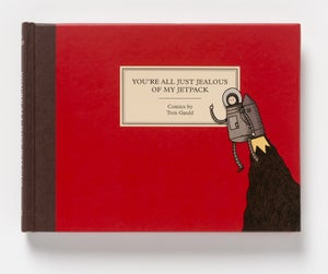 Image of  You're All Jealous of My Jetpack - written and illustrated by Tom Gauld