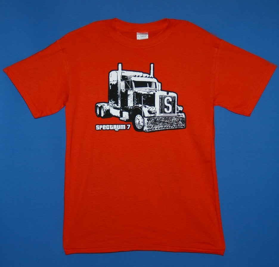 Spectrum 7 store spectrum 7 39 truck 39 design t shirt for Create t shirt store online