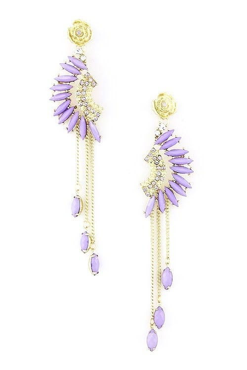 Image of Indian Feather Earrings