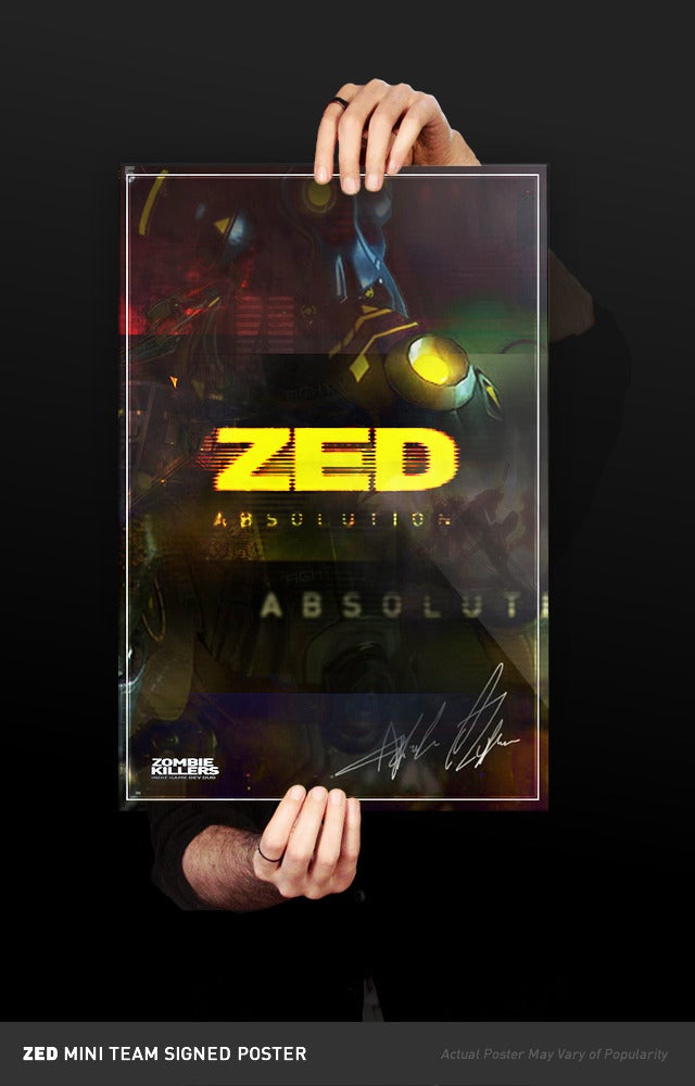 Image of ZED: Absolution Signed Limited Pre-Poster