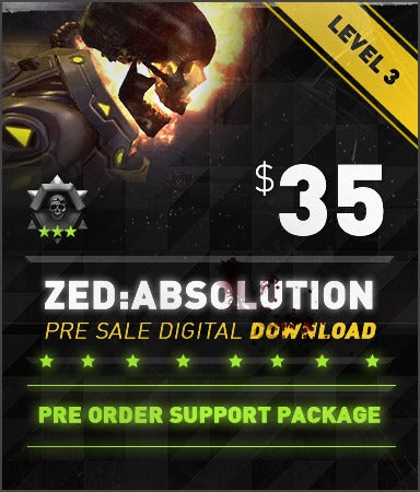 Image of ZED: Absolution 35$ Preorder