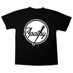 Image of Apathy Spiked Bat Logo T-Shirt - Black Tee