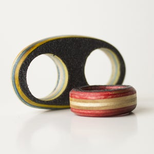 Image of Recycled Skateboard Rings