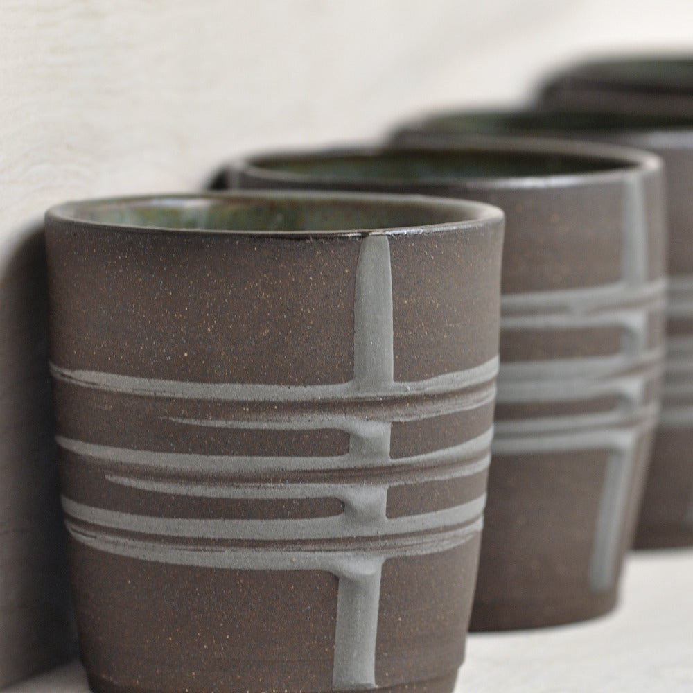Image of banded tumblers
