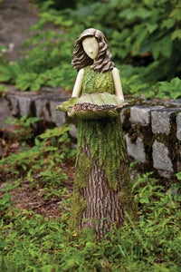 Image of Sherwood Fern Statuary Bird Feeder